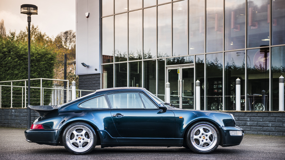1993 Kahn Porsche 911 Carrera 2 Turbo Coupe Amazon Green