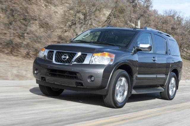 2012 Nissan Armada Picture 8