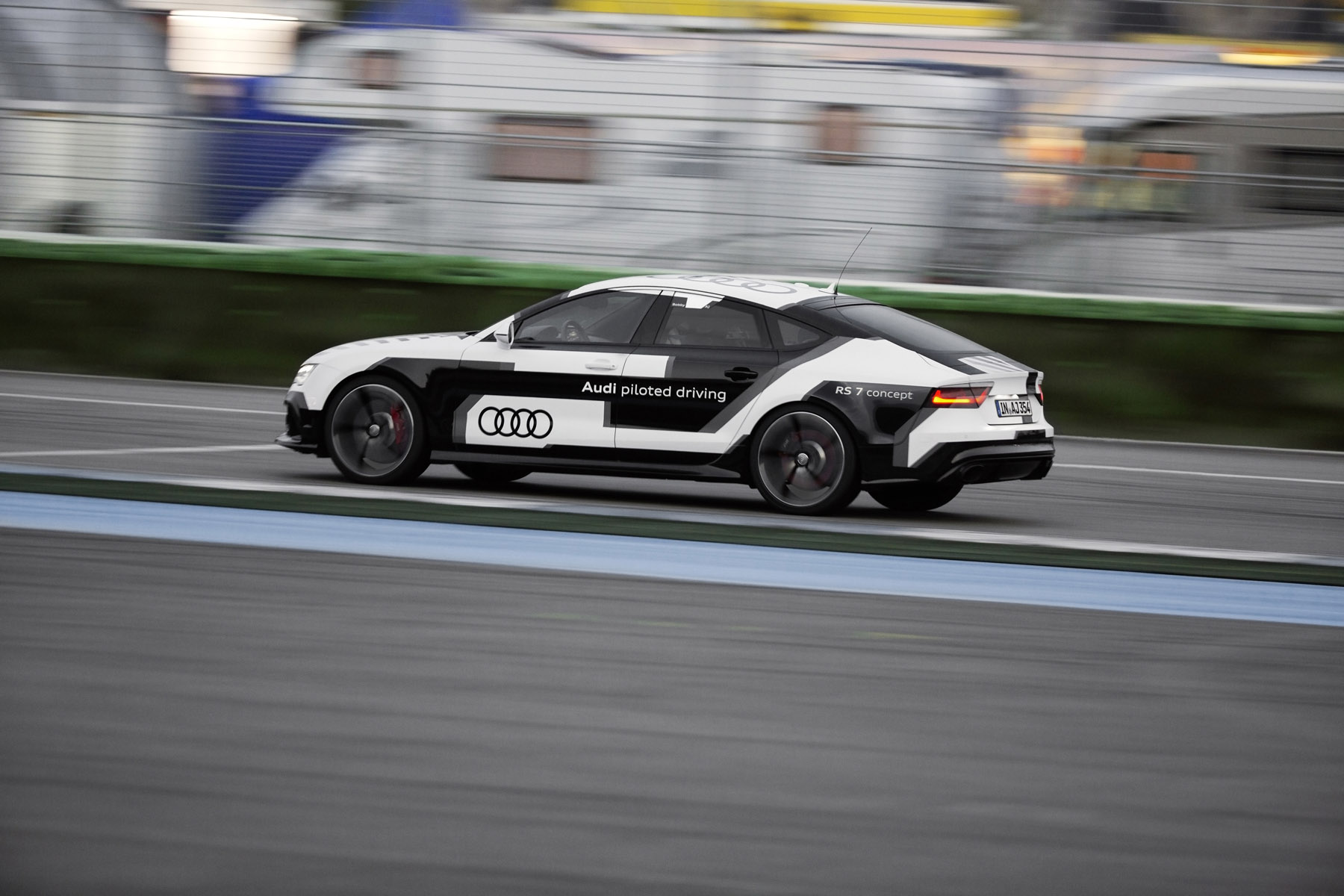 2014 Audi RS 7 Piloted Driving Concept Car