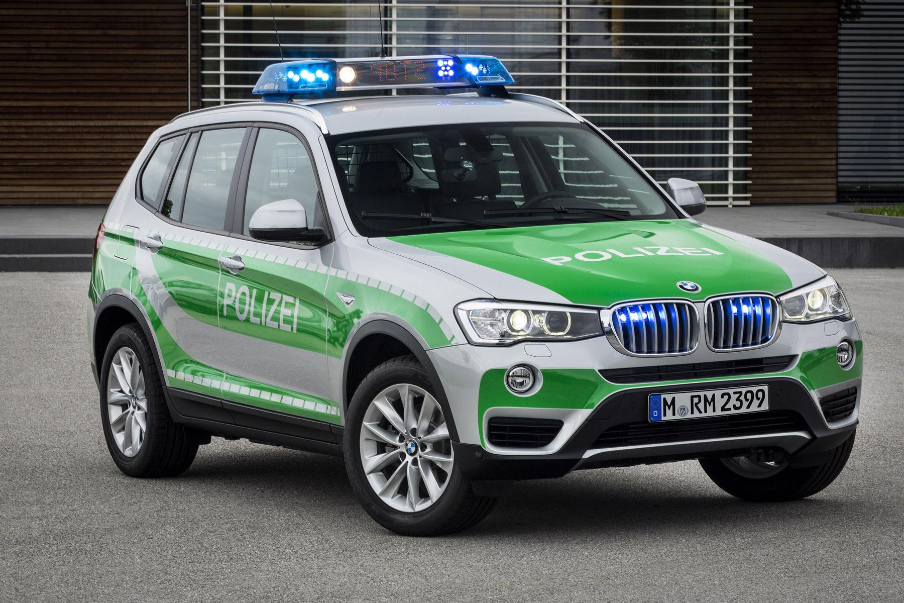 2014 BMW X3 xDrive20d Police