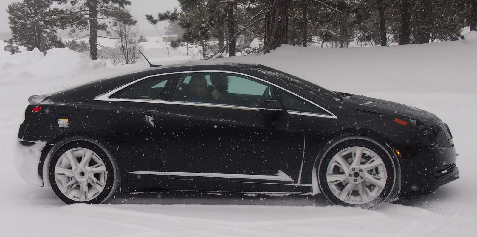 2014 Cadillac ELR Chassis Testing