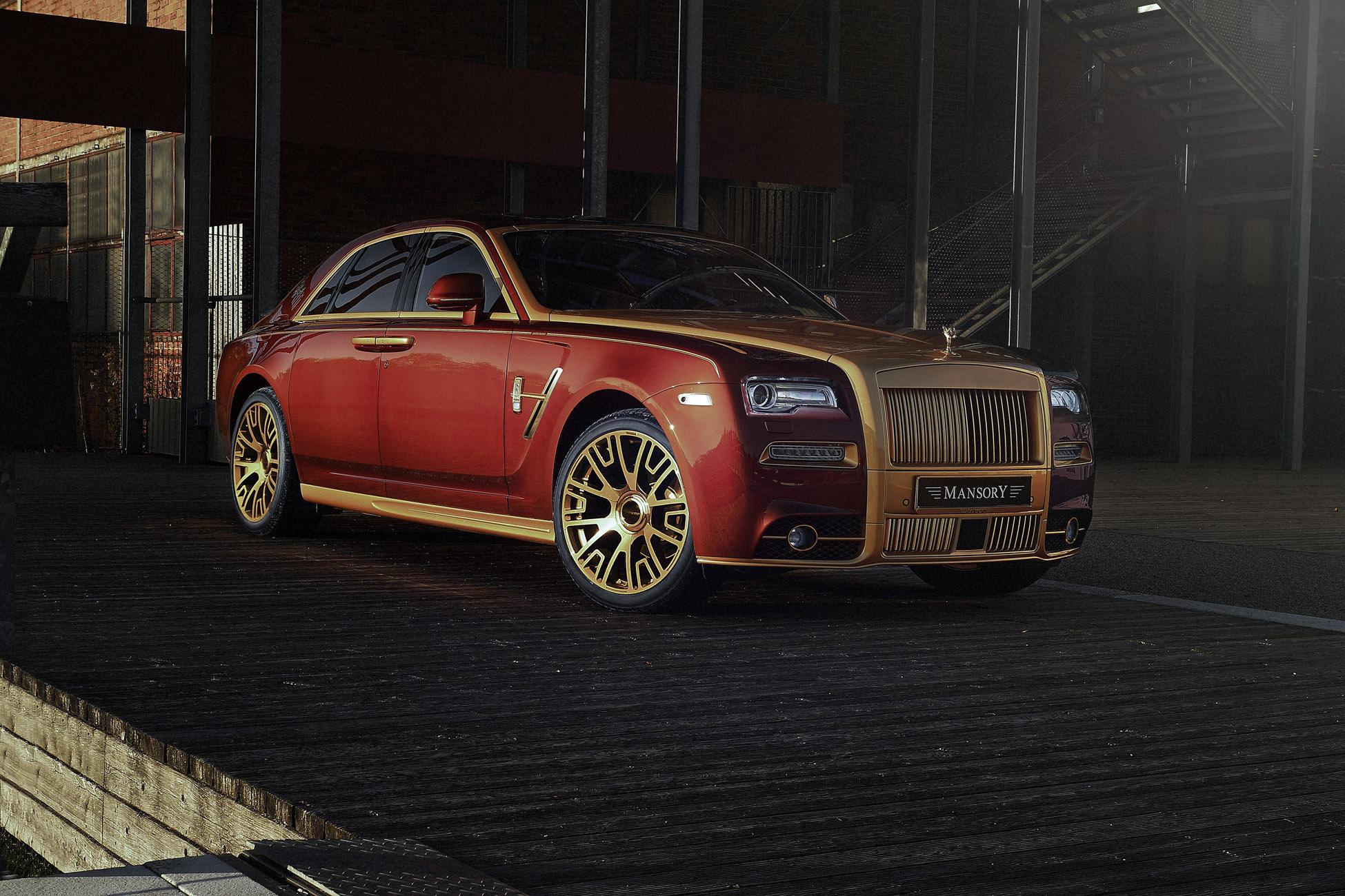 2014 Mansory Rolls-Royce Ghost II