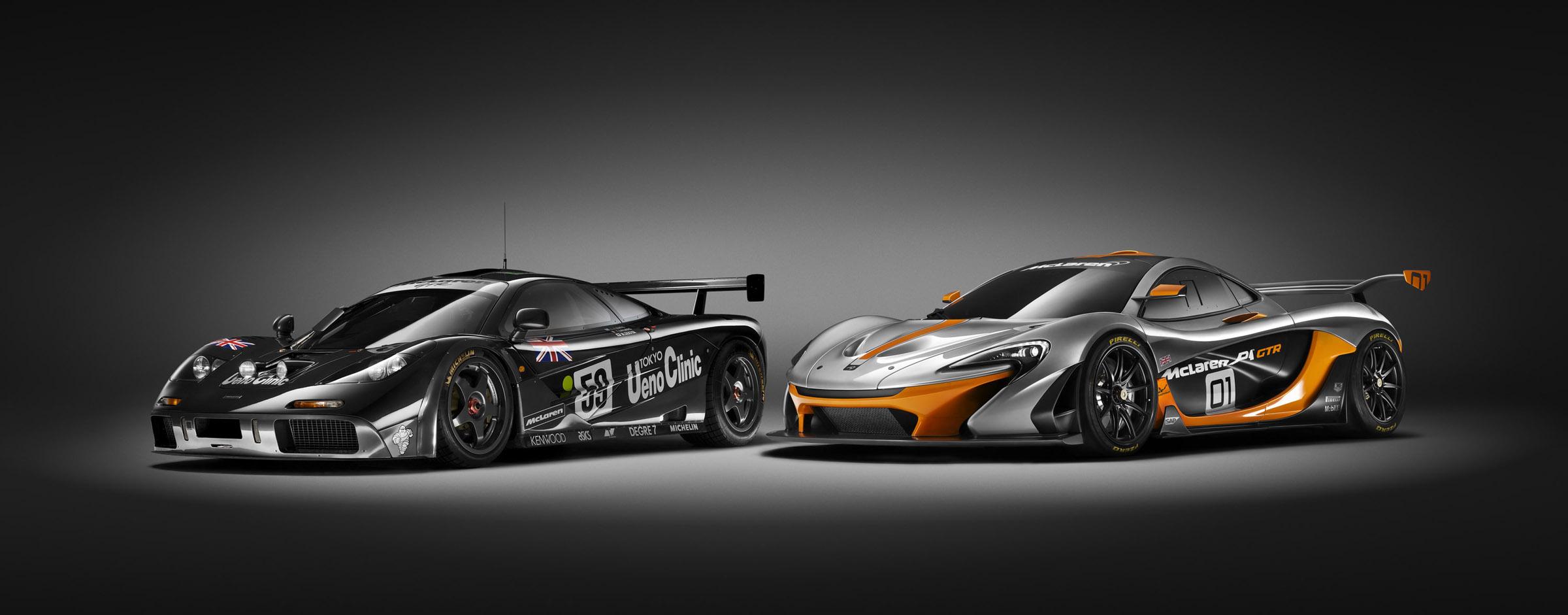 2014 McLaren P1 GTR Concept