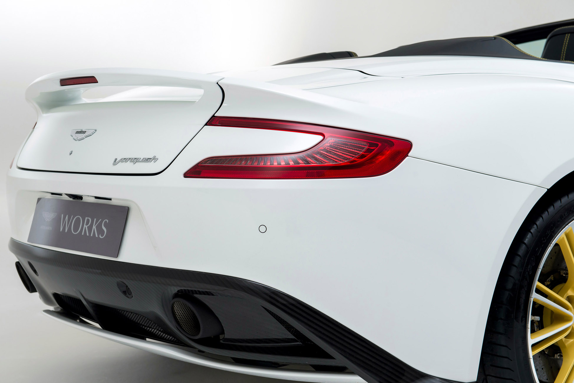 2015 Aston Martin Works 60th Anniversary Limited Edition Vanquish