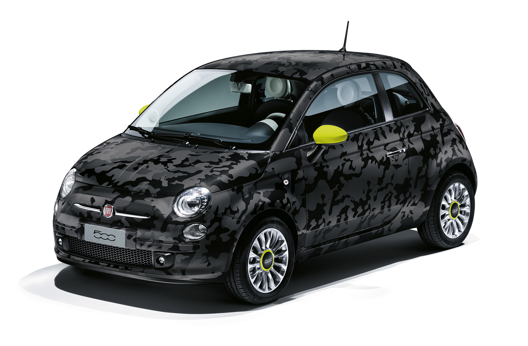 Fiat 500 Camouflage