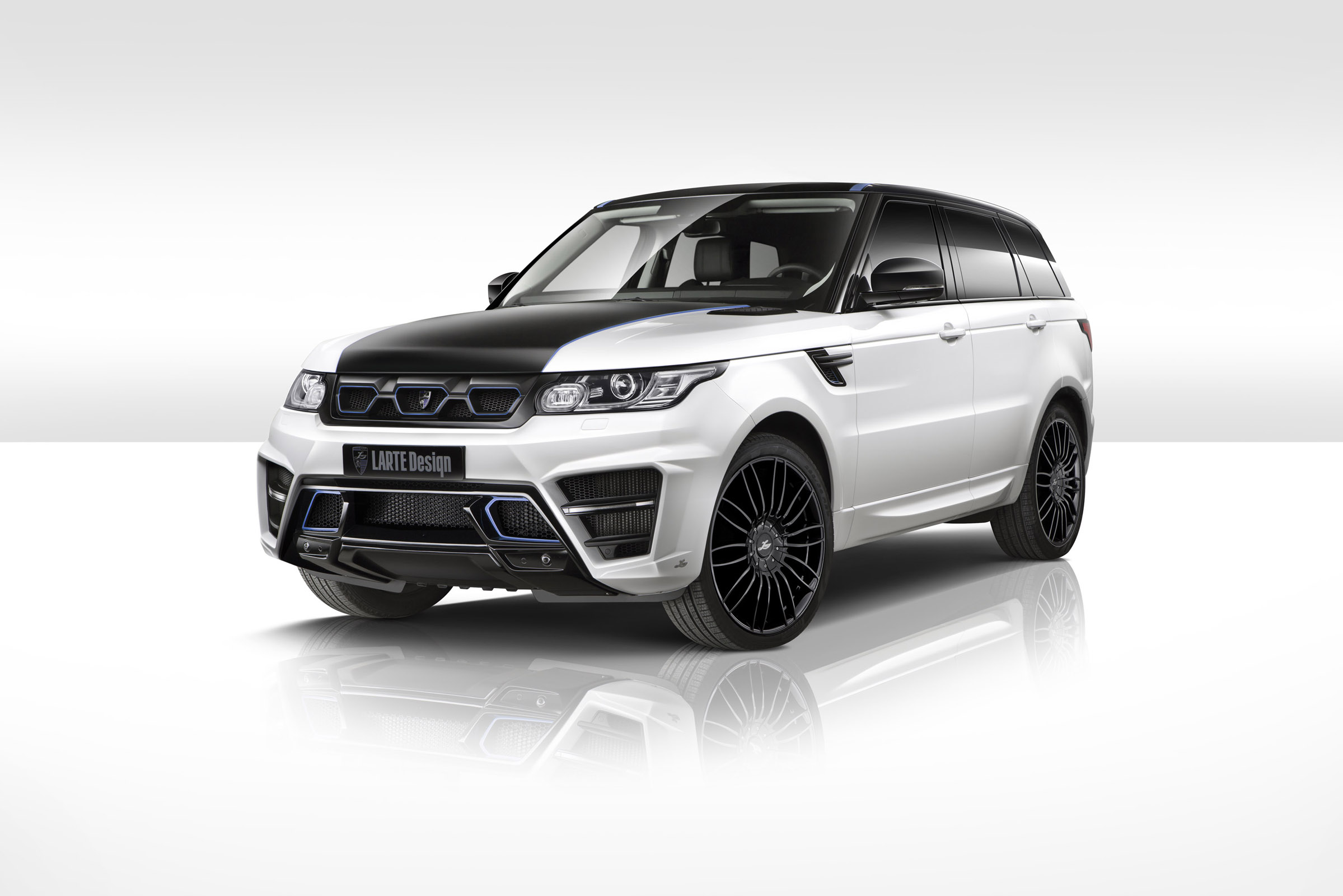 2015 LARTE Range Rover Sport Winner White