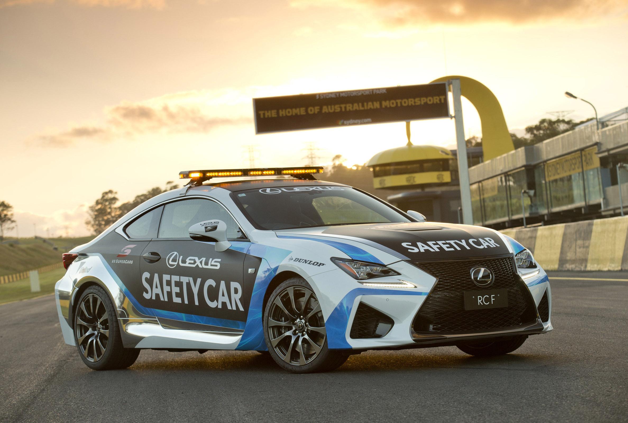 2015 Lexus RC F Safety Car