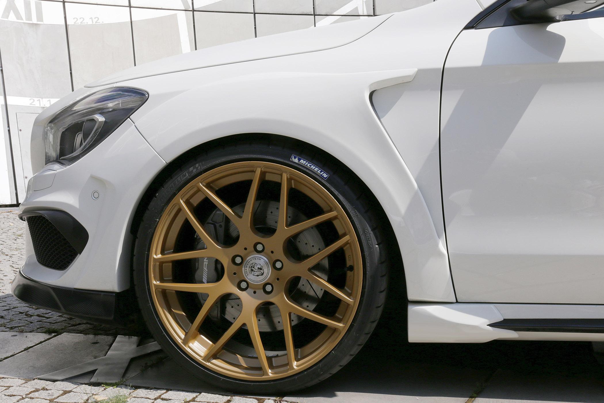 2015 Loewenstein Mercedes-Benz CLA SAPHIR LM45-410 Turbo