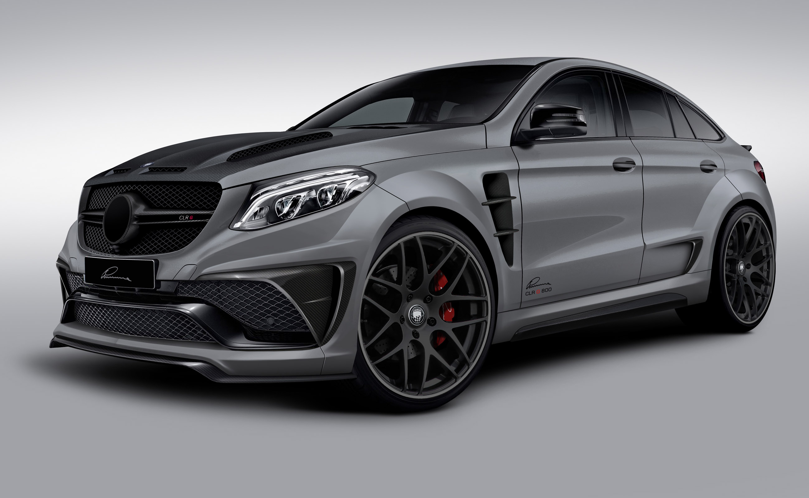 2015 LUMMA Mercedes-Benz GLE Coupe CLR G800