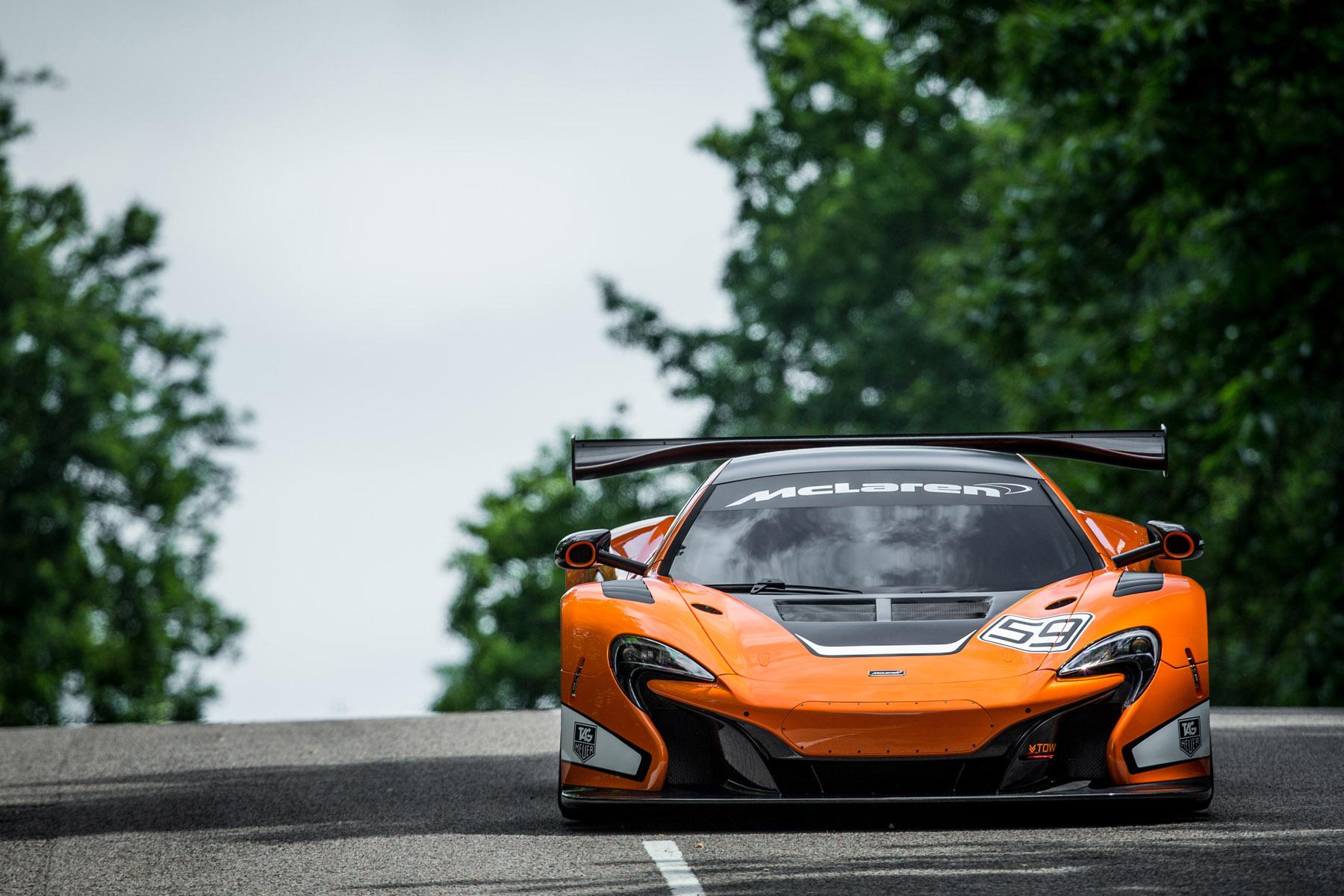 2015 McLaren 650S GT3