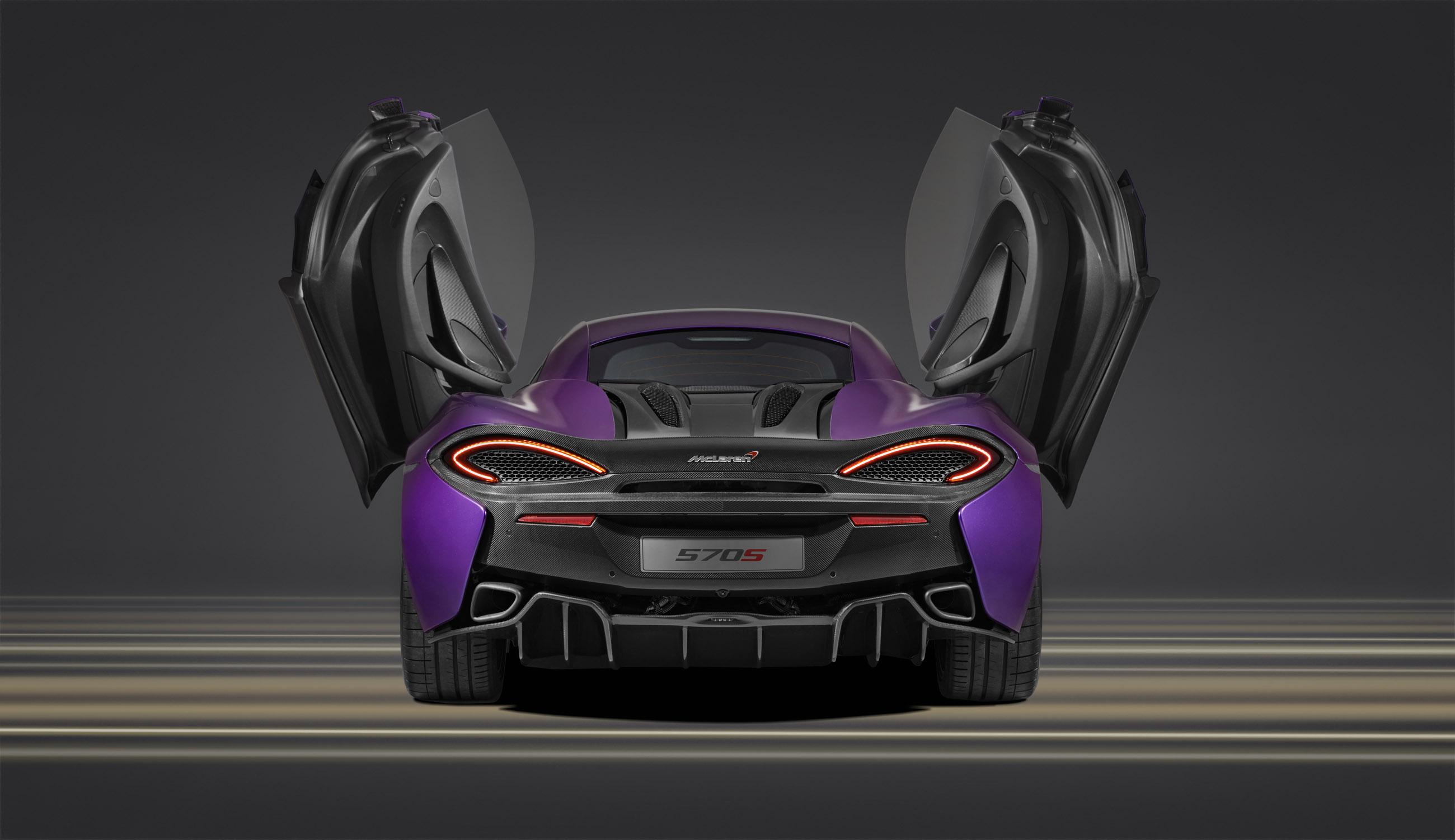 2015 McLaren MSO 570S