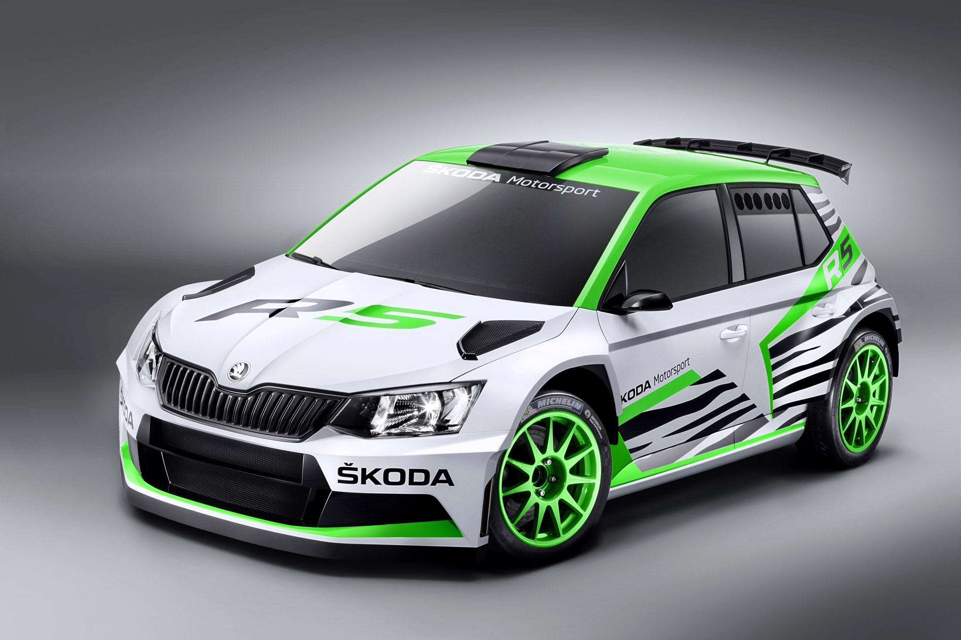 2015 Skoda Fabia R5 Concept
