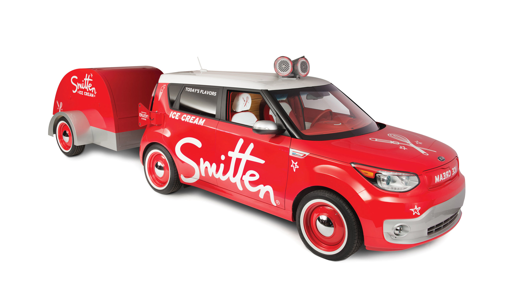 2015 Smitten Ice Cream Kia Soul EV
