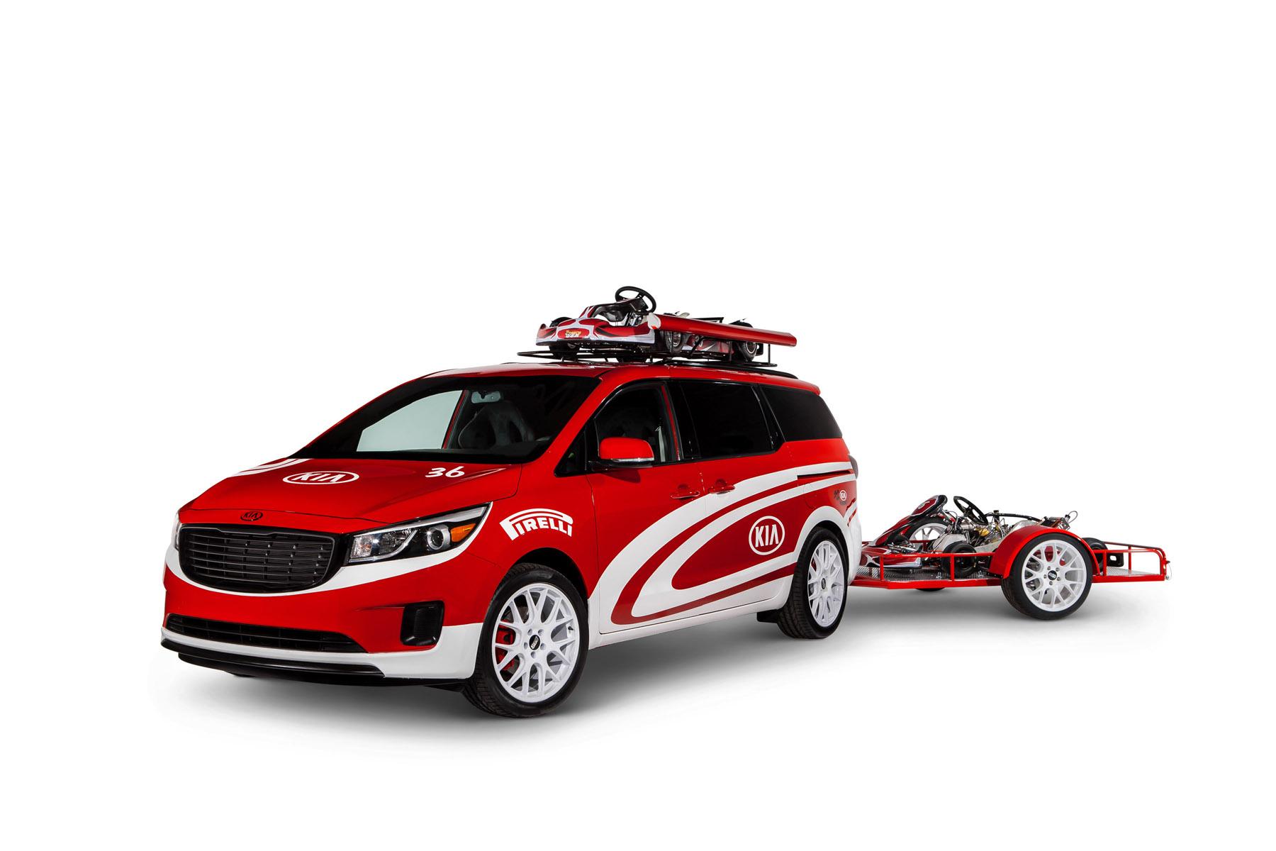 2015 Ultimate Karting Kia Sedona