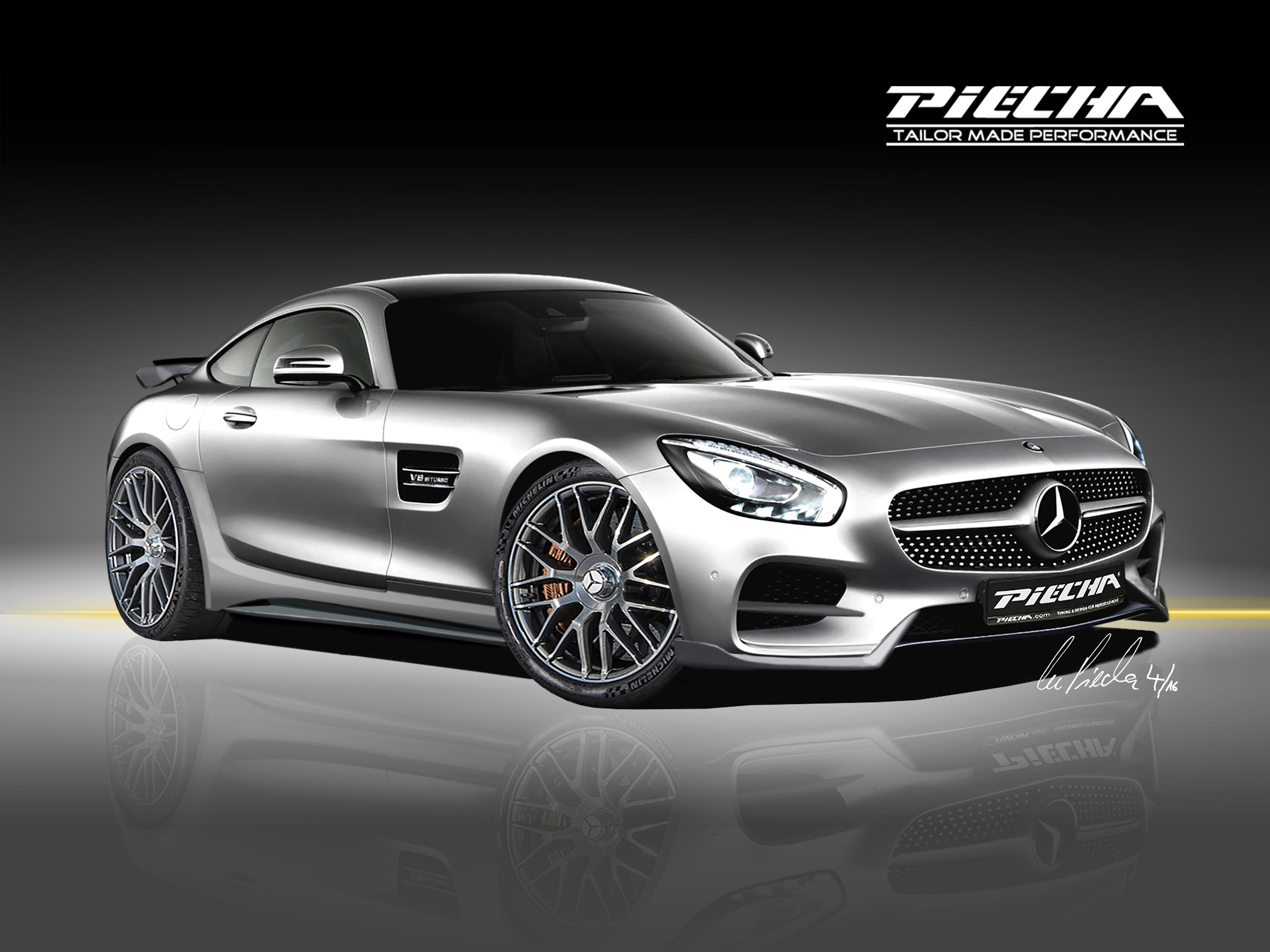 2016 Piecha Mercedes-Benz AMG GTS