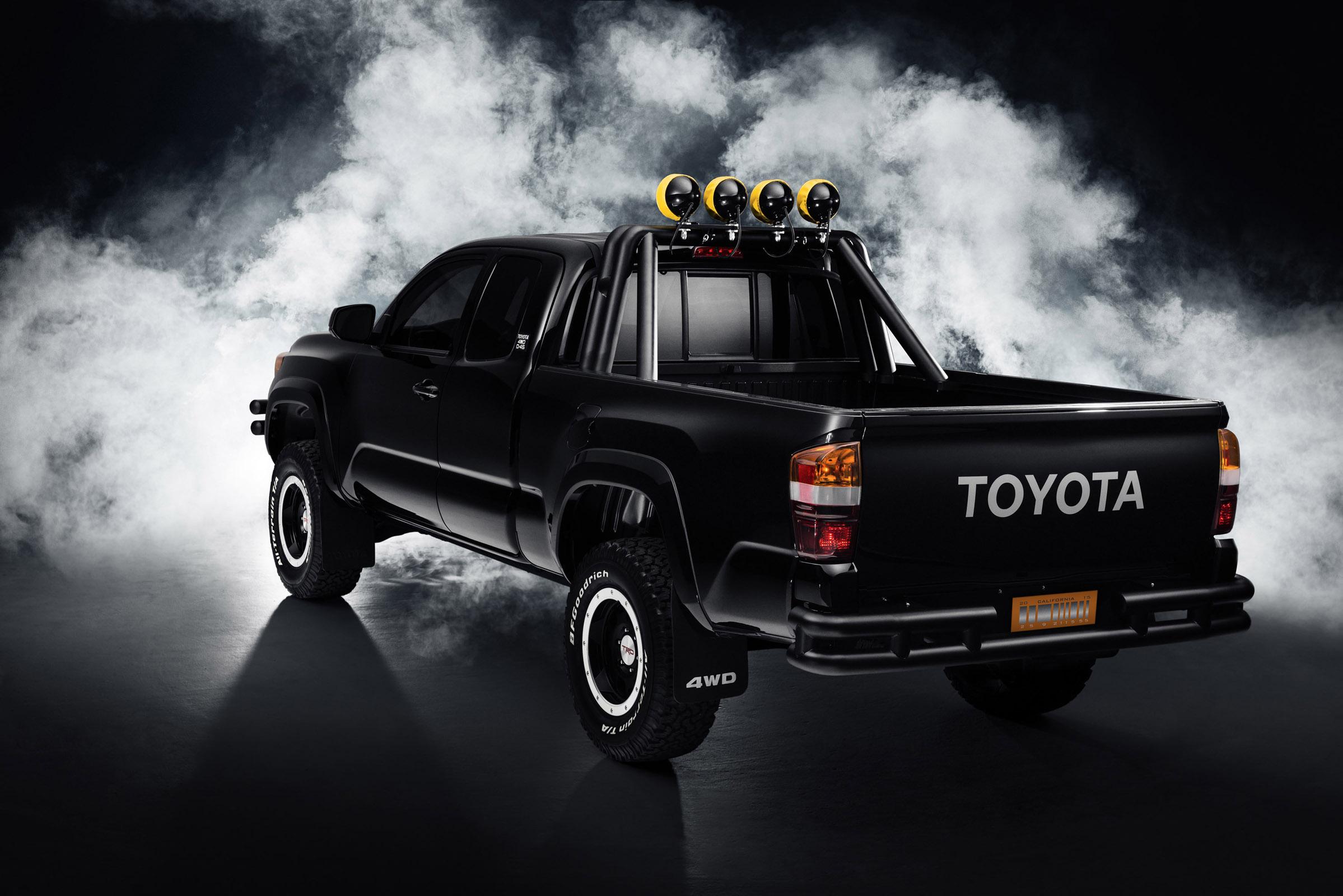 2016 BTTF Toyota Tacoma Concept