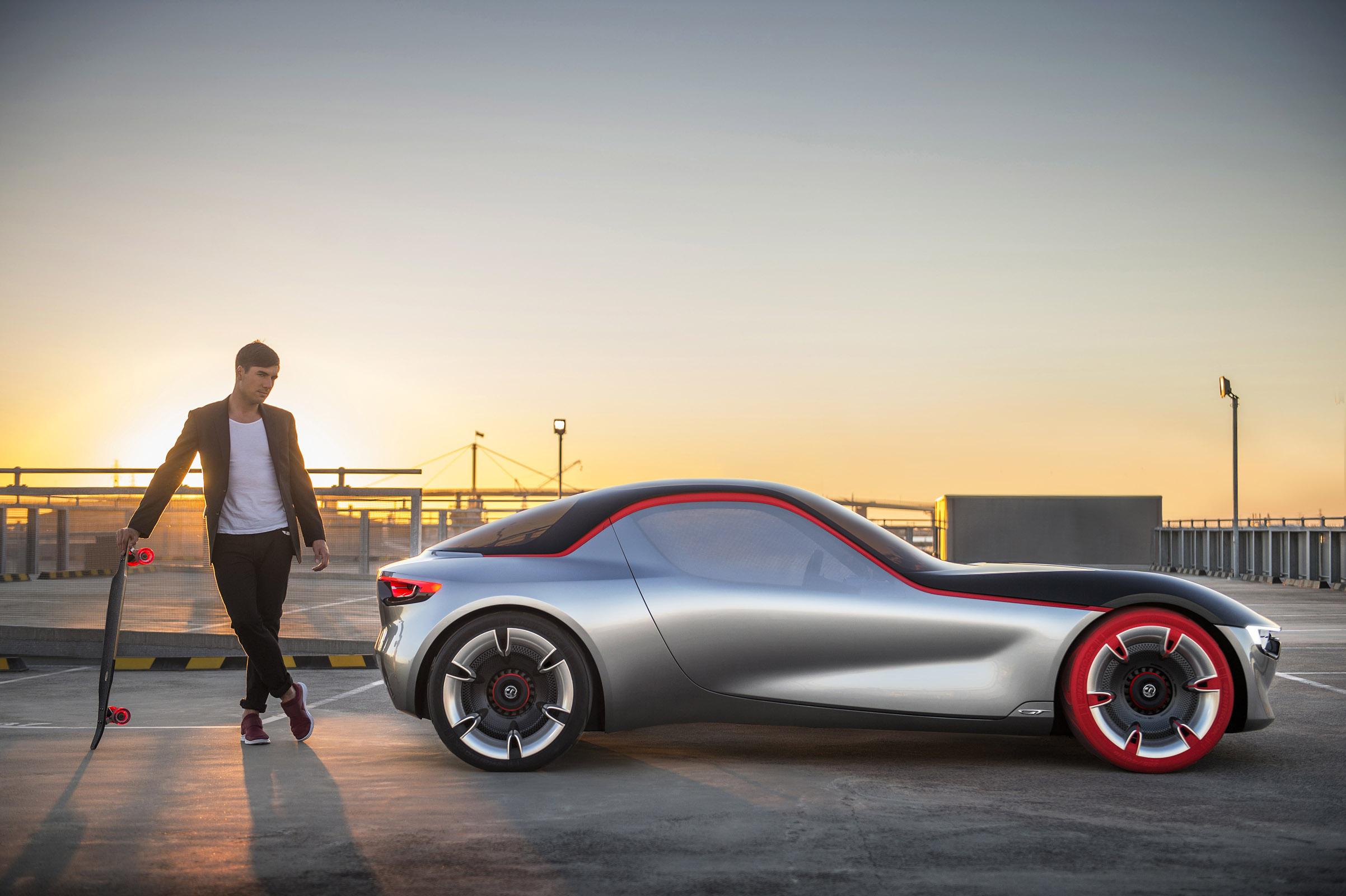 2016 Vauxhall GT Concept