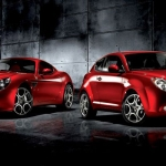 Alfa Romeo MiTo and 8C