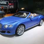 Bentley Continental GT Speed Convertible Detroit 2013 Picture 3