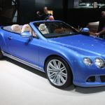 Bentley Continental GT Speed Convertible Detroit 2013 Picture 4