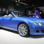 Bentley Continental GT Speed Convertible Detroit 2013 Picture 5