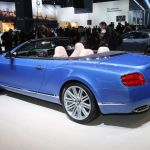 Bentley Continental GT Speed Convertible Detroit 2013 Picture 7