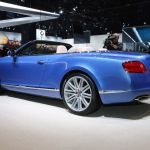 Bentley Continental GT Speed Convertible Detroit 2013 Picture 8