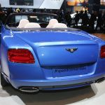 Bentley Continental GT Speed Convertible Detroit 2013 Picture 9