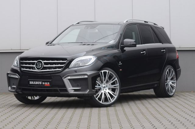 2012 BRABUS Mercedes ML 63 AMG Picture 1