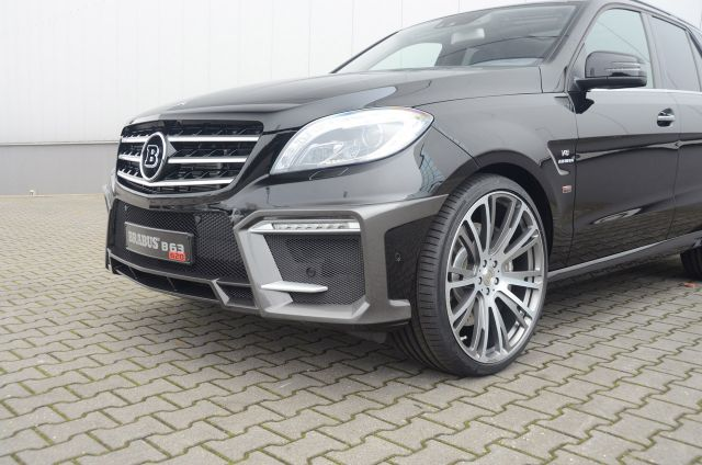 2012 BRABUS Mercedes ML 63 AMG Picture 2