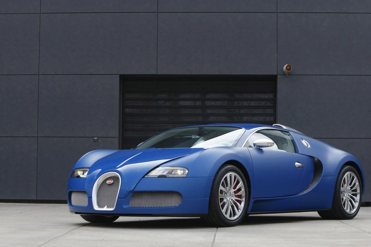 Bugatti Veyron Bleu Centenaire Edition
