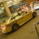 thumbs dubais gold mercedes c63 amg 06 Dubai's Gold Mercedes C63 AMG
