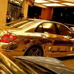 thumbs dubais gold mercedes c63 amg 07 Dubai's Gold Mercedes C63 AMG