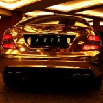 thumbs Dubai's Gold Mercedes C63 AMG pic_4361
