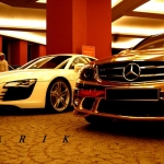 thumbs dubais gold mercedes c63 amg 11 Dubai's Gold Mercedes C63 AMG