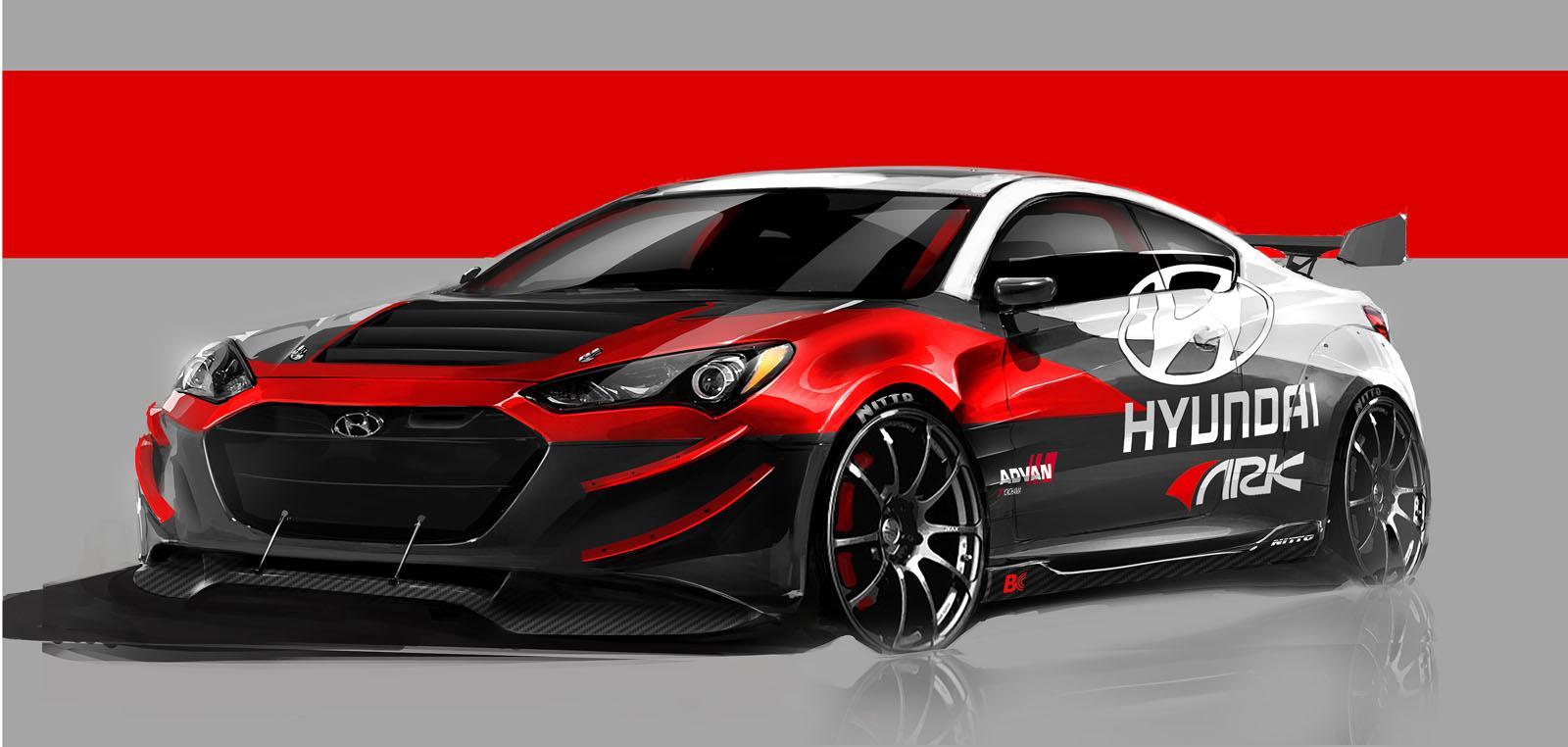 Hyundai Genesis Coupe R-Spec Track Edition