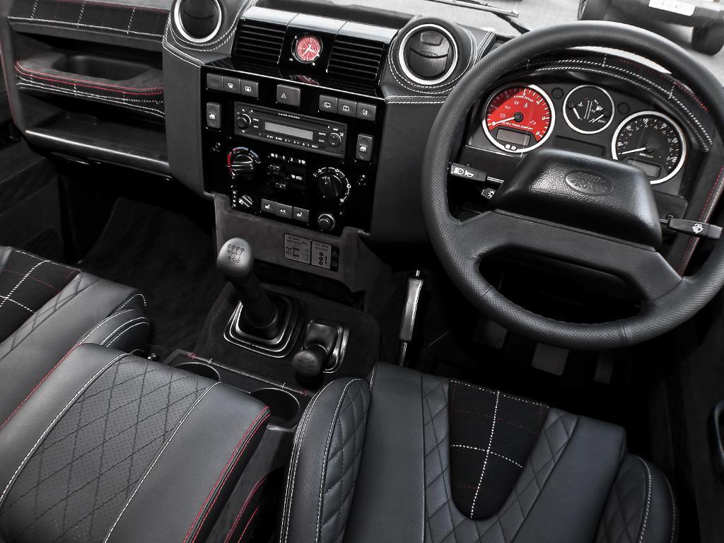 Kahn Design Land Rover Defender Harris Tweed Edition