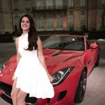 Lana Del Rey Jaguar F-Type Picture 2