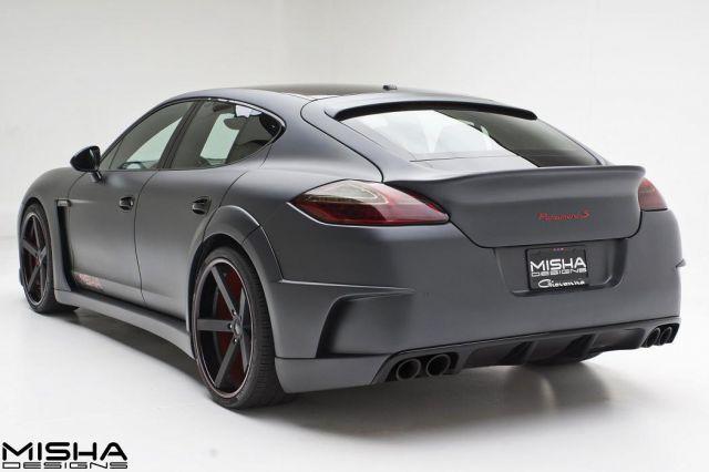 Misha Designs Porsche Panamera Picture 5