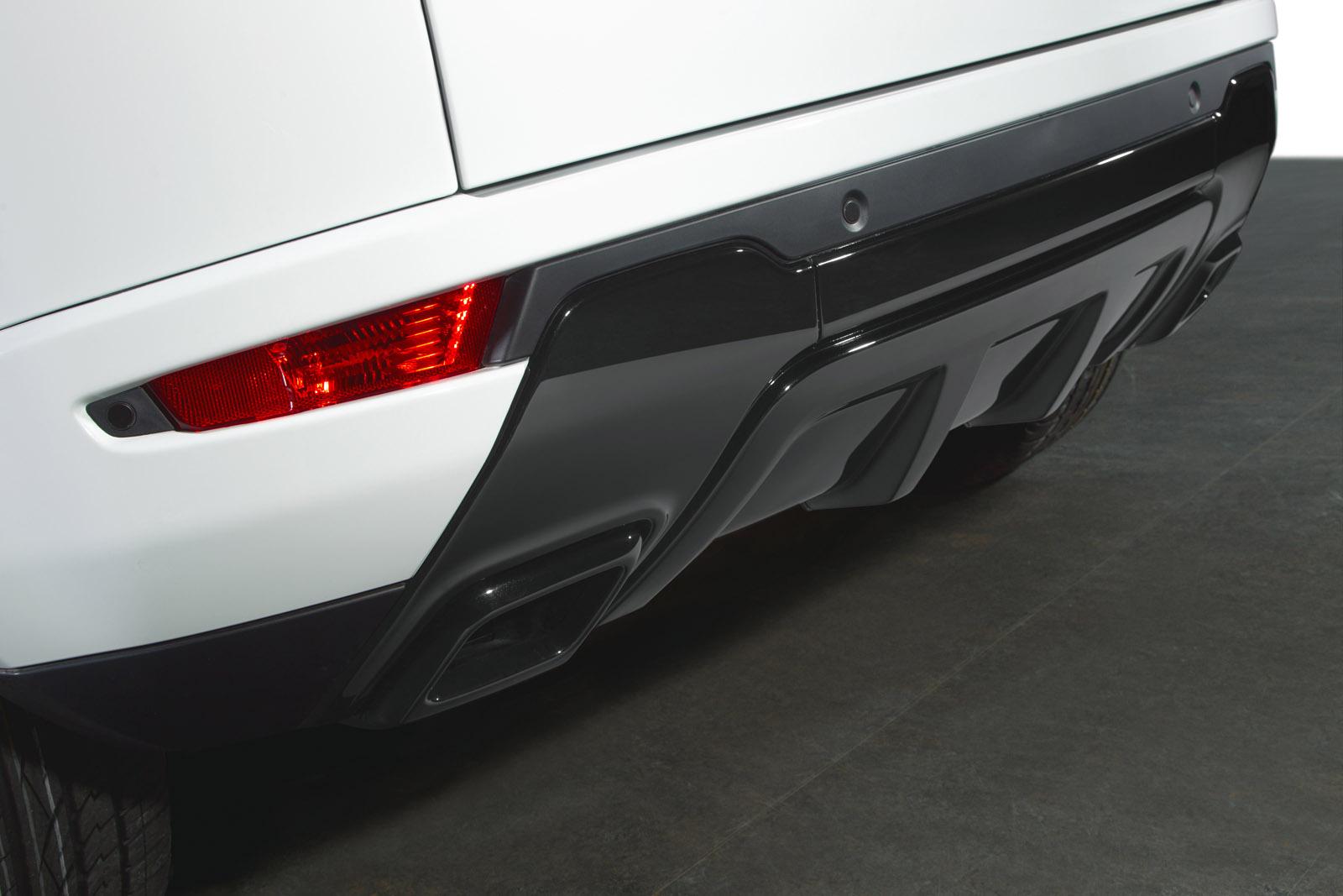 Range Rover Evoque Black Design Pack
