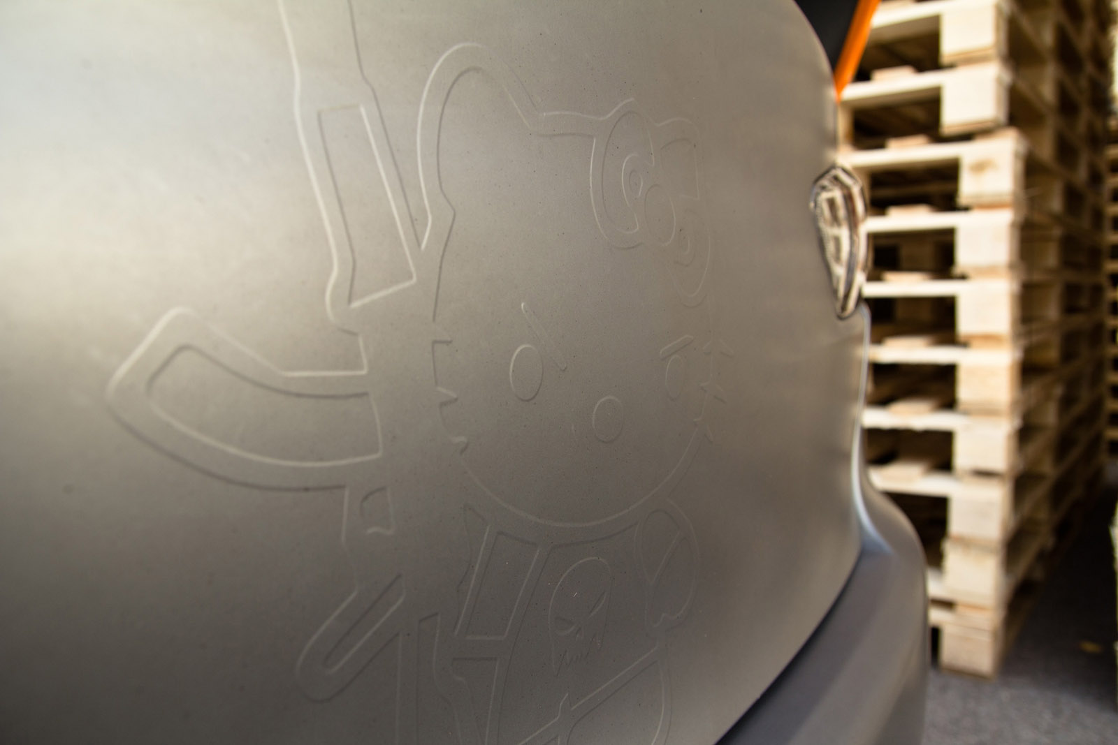 SchwabenFolia Mitsubishi Evo X STEALTH FIGHTER