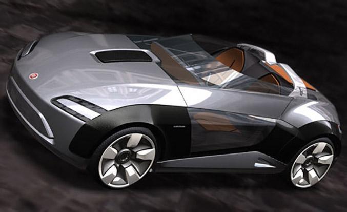 Bertone sports car