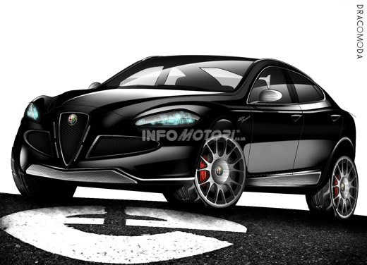 Alfa Romeo 149 SUV - Rendering