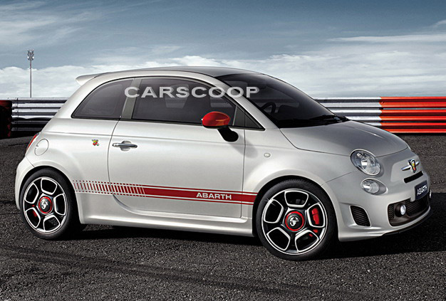 Fiat 500 Abarth – Official Images!