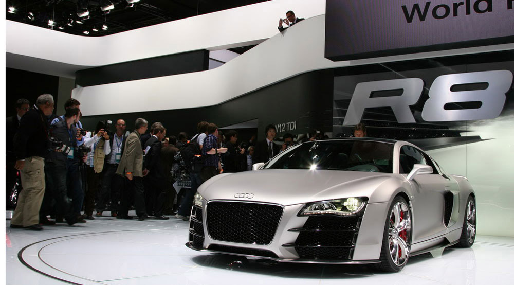 Audi R8 Spider is here!
