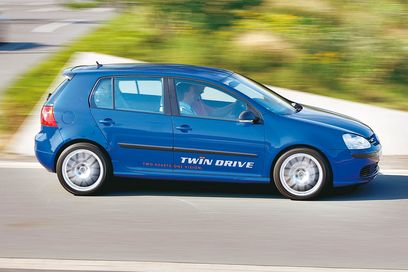 VW Golf Twin drive