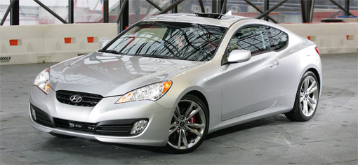 Hyundai Genesis Coupe to feature Brembo brakes