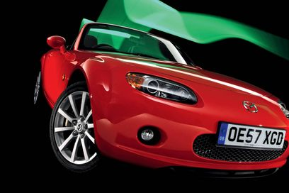 BEST CONVERTIBLE: Mazda MX-5 RC