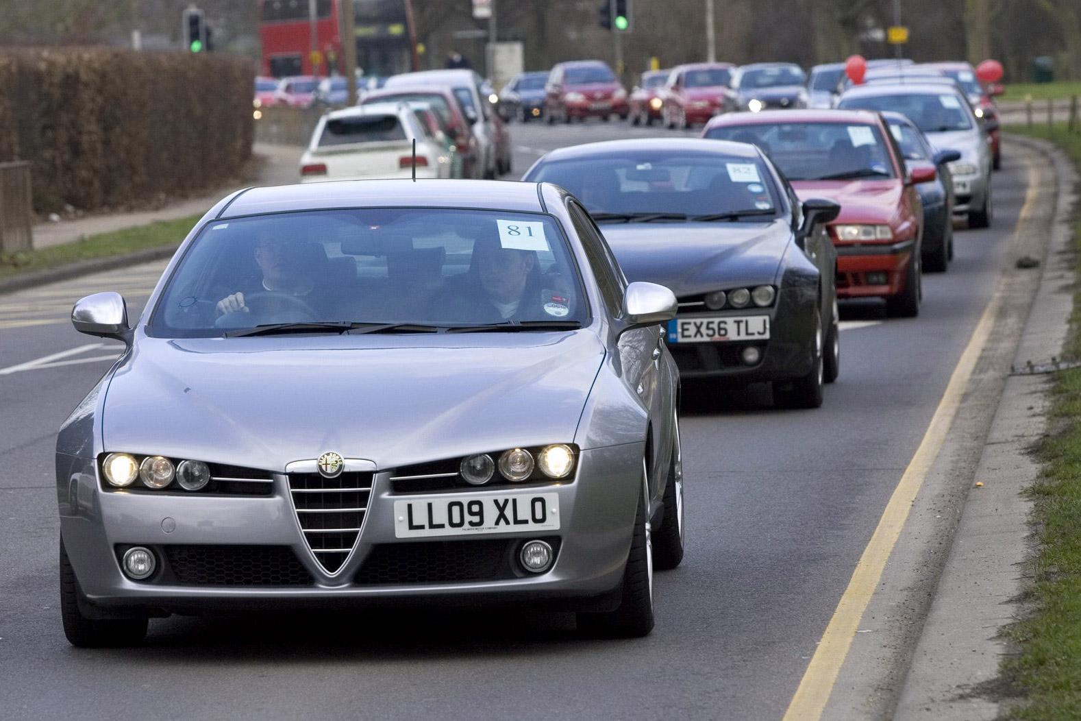 Largest Parade of Alfa Romeos