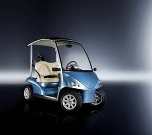 Garia Launches Street Legal Electrical Golf Car at the Geneva